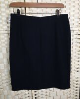 BHS Vintage Lined Straight Work Office Skirt (14) Fits 10/12 Smart Business Zip