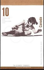 Canada 1996 Booklet #192b Olympic Gold Medallists Sporting Heroes, open flap