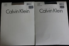 Calvin Klein mini mesh control top pantyhose, size 3 NIP
