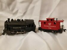 Mantua HO ENGINE Locomotive 0-4-0 3992 Santa Fe Pennsylvania Free Shipp