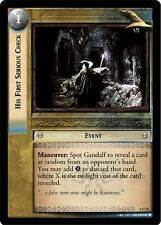 LoTR TCG Realms of the Elf Lords His First Serious Check FOIL 3C33
