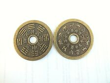 1 CHINESE L 5.5 cm COPPER 12 ZODIAC ANIMAL LUCKY FENG SHUI COIN BIRTHDAY PARTY P