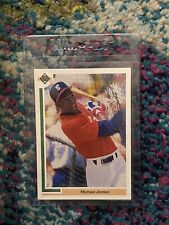 1991 Upper Deck MICHAEL JORDAN #SP1 Chicago White Sox Baseball RC SP