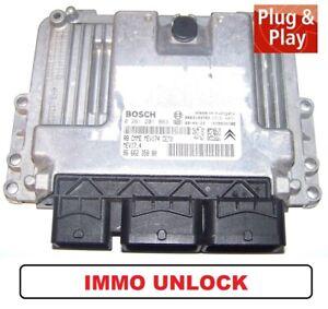 Control Unit Peugeot 207 308 C3 1,4l 16V 95PS 0261201863 9666235880 Unlock ECU
