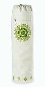 GAIAM White Mosaic Yoga Mat Bag NEW! 133599