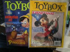 New listing 2 Toy Box Magazines with Mickey Mouse on the Cover.