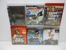 Sony Play Station 3 (PS3) Lot of 6 Games New and Sealed