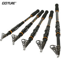 Goture Telescopic Fishing Rod Spinning Fresh&Saltwater Travel Retractable Rod