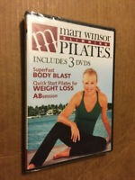 "NEW/SEALED THREE-DVD SET - ""MARI WINSOR PILATES"" - SLIMMING (2009)"