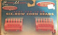 Scene Master HO Scale Flat Load Car 6 Row Corn Heads #1661