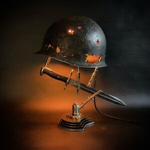 Battle lamp Sculpture WW2 US M1