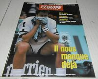EQUIPE MAGAZINE N°741 1996 ROLAND-GARROS LECONTE SAMPRAS BECKER DE LA HOYA BOXE