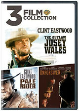 The Outlaw Josey Wales Pale Rider Unforgiven (clint Eastwood) DVD