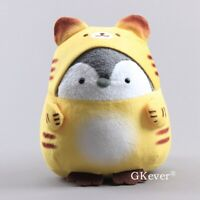 Cute Cartoon Cosplay Tiger Penguin Plush Stuffed Animal Toy 8'' Teddy Kids Gift