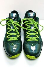 RETRO MICHAEL JORDAN TAKE FLIGHT Basketball Shoes Size 13 Neon Green