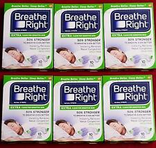 Breathe Right Nasal Strips, EXTRA CLEAR For Sensitive Skin 60 Clear Nose Strips