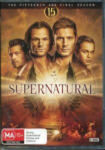 Supernatural Fifteenth and Final Season 15 DVD NEW Region 4