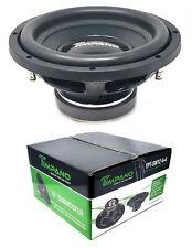 "1x 12"" Pro Audio Bass Subwoofer Dual 4 Ohm 400 Watts Timpano TPT-SW12 4+4"