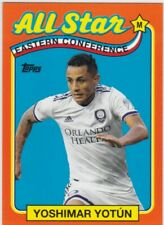 2019 Topps MLS All Stars Orange Yoshimar Yotun Orlando 12/25
