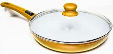 GENIUS Cerafit-Gold Pfanne 28cm mit Deckel, B-Ware