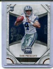 2016 Dak Prescott Crown Royale Rookie Card RC 185/249 *Cowboys*