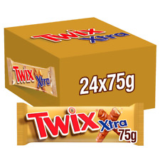 Twix Xtra Box of 24 SEALED OUTER FREE TRACKED POSTAGE WAS £19.99 NOW ONLY £18.99