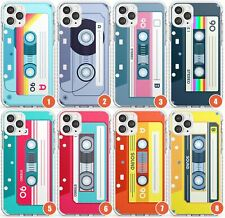 Retro Cassette Tape Design Impact Phone Case for iPhone | Mixtape Vintage Music