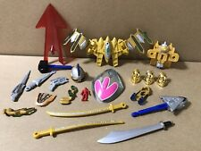 Power Rangers Time Force Accessories Lot Armor Ransik Sword Chrono Saber