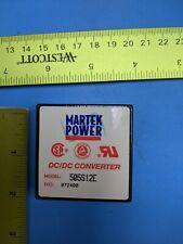 Dcdc Converter Martek Power 505s12e 2 Pin 2 Pin New One