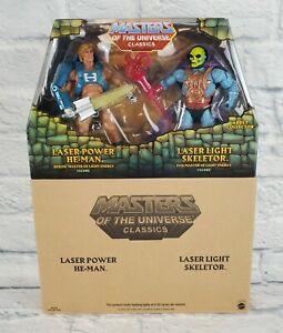 MOTU Masters Of The Universe Classics Laser Power He-Man Laser Light Skeletor