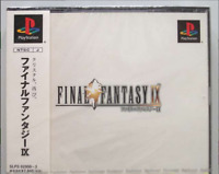 NEW Final Fantasy IX 9 gameJapan 100% SEALED FOR COLLECTION PS1 2 Game JP