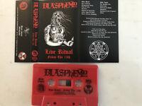 Blasphemy - Live Ritual - Friday The 13th Cassette Tape SEALED - War Black Metal