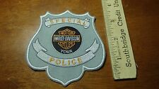 SPECIAL POLICE MOTORCYCLE PATROL  MOTORCYCLE ROCKER PATCH BLUE KNIGHTS BX L 6
