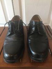 CHAPS Men's  Dress Shoes Black Leather Oxford 96-7704 Cap Toe Lace Up Size 11M
