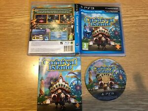 CARNIVAL ISLAND PLAYSTATION 3 GAME PS3 WITH MANUAL PAL PLAYSTATION MOVE REQUIRED
