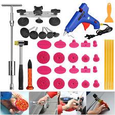 PDR Tools 2-In-1 Slide Hammer Paintless Dent Repair T bar Glue Gun Puller Kit