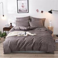 Bedding Set Christmas Print Duvet Quilt Cover Bedding Kit Pillowcase King