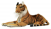 Tiger Stuffed Animal Plush Realistic Toy 18 inches