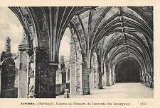 BR45762 galeria do claustro do convento dos jeronymos Lisboa portugal