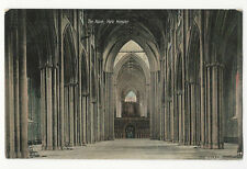 Yorkshire - York Minster, The Nave - 1900's card