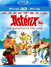 Asterix & Obelix: Mansion Of The Gods 3D (UK IMPORT) Blu-Ray NEW
