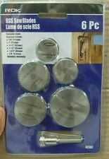 HSS Circular Saw Blade Set For Metal And Dremel Rotary Tools.