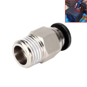 Pneumatic Connectors PC4-01 Remote 3DPrinter Part Bowden 1.75mm For V6 V5 J-head