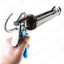 PROFESSIONAL CAULKING GUN Heavy Duty Sealant Silicone Adhesive Mastic Applicator