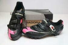 New Diadora X-Trail 2 Women's Mountain Bike Shoes 43 11 Black Pink SPD MTB Race
