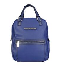 Bolsos de mujer mochila color principal azul de piel