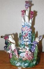 Ltd Ed Clayworks Goldminc Princess Enchanted Castle Music Box Tea Light Mib