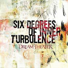 Six Degrees of Inner Turbulence by DREAM THEATER (2CD-2002 EAST WEST)   SEALED