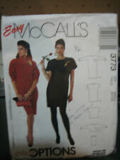 McCall's 3773 Misses Dress, Top & Cowl Pattern - Size Small