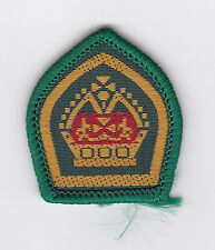 SCOUTS OF AUSTRALIA - QUEEN'S SCOUT Highest Rank Top Award Miniature Patch
